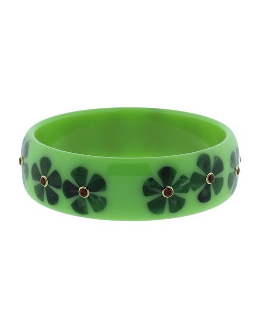 Mark Davis - Green Bakelite Bangle - Lyst
