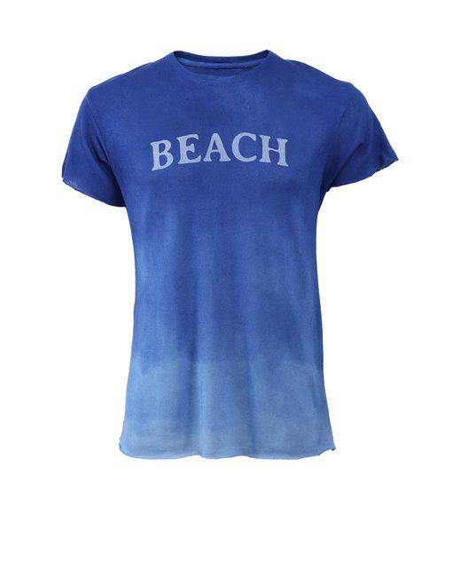 The Elder Statesman - Blue Beach Tee for Men - Lyst