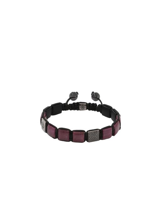 "Shamballa Jewels | Multicolor ""lock"" Bracelet 
