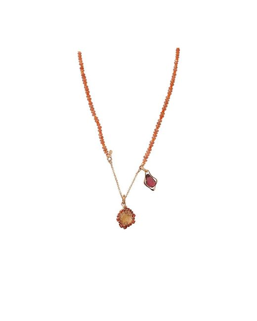 Federica Rettore | Metallic Semi D'amore Necklace | Lyst