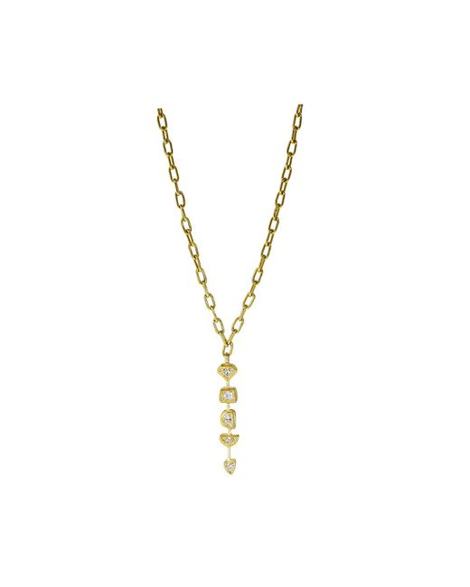 Boaz Kashi | Metallic Diamond Necklace | Lyst