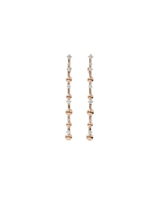 Mattia Cielo | Metallic Rugiada Diamond Pave Earrings | Lyst