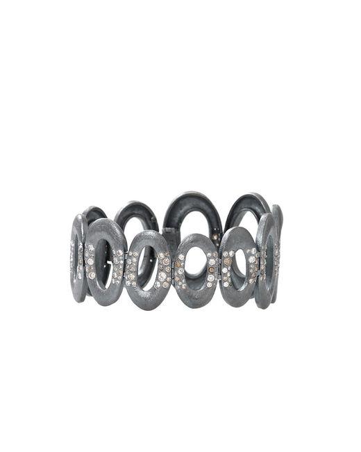 Todd Reed - Metallic Diamond Oval Link Bracelet - Lyst