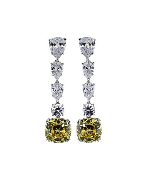 Fantasia Jewelry | Multicolor Cushion Drop Earrings | Lyst