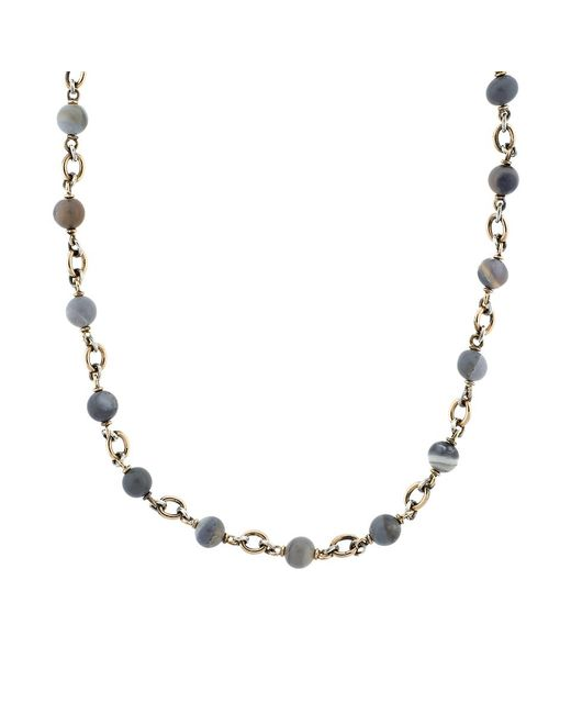 Sylva & Cie | Multicolor Blue Opal Bead Necklace | Lyst