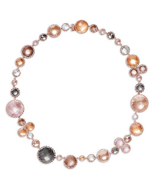 Larkspur & Hawk - Metallic Sadie Bubble Necklace - Lyst
