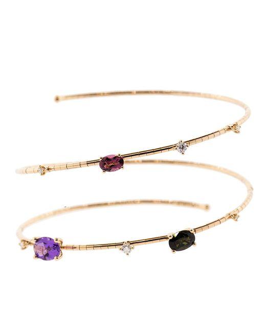 Mattia Cielo - Multicolor Rainbow Rugiada Two Wrap Bracelet - Lyst