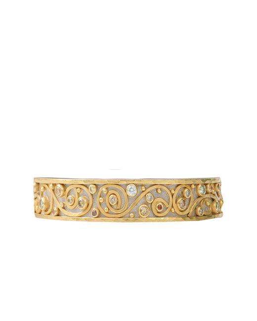 Annie Fensterstock | Metallic Winter Bangle Bracelet | Lyst