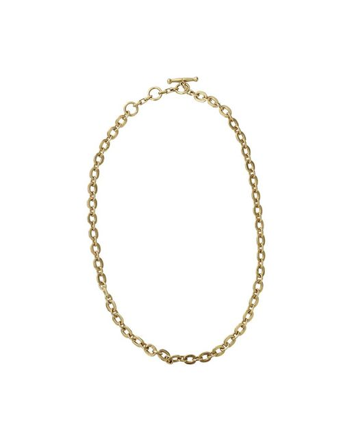 Vaubel - Metallic Tiny Circle Chain Necklace - Lyst