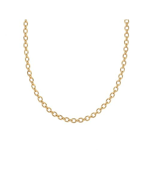 Irene Neuwirth - Metallic Tiny Oval Link Chain Necklace - Lyst