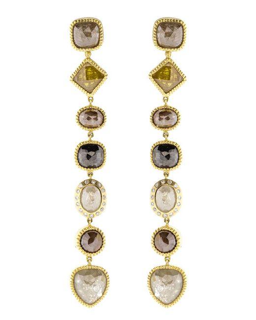Todd Reed - Pink Fancy Diamond Drop Earrings - Lyst