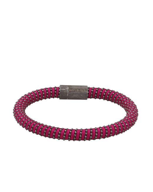 Carolina Bucci - Red Magenta Twister Band Bracelet - Lyst