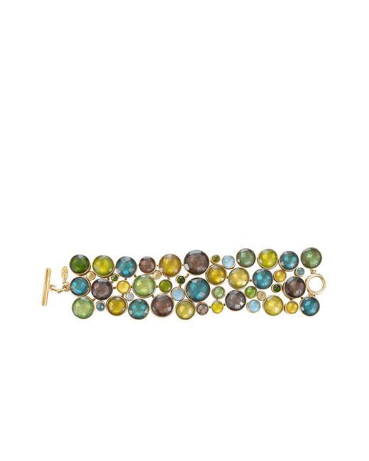 Vaubel | Multicolor Multi-stone Circle Bracelet | Lyst