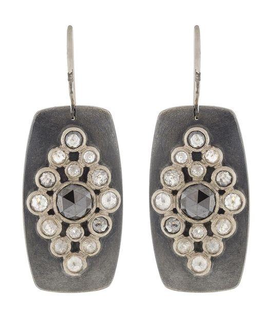 Todd Reed - Metallic Rose Cut Diamond Earrings - Lyst