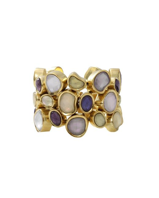 Vaubel | Metallic Stone Fill Pebble Bracelet | Lyst