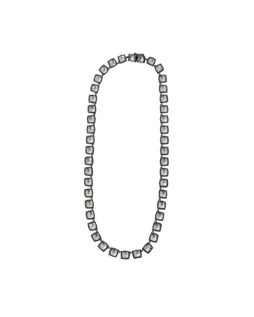 Larkspur & Hawk - Metallic Bella Small Riviere Necklace - Lyst