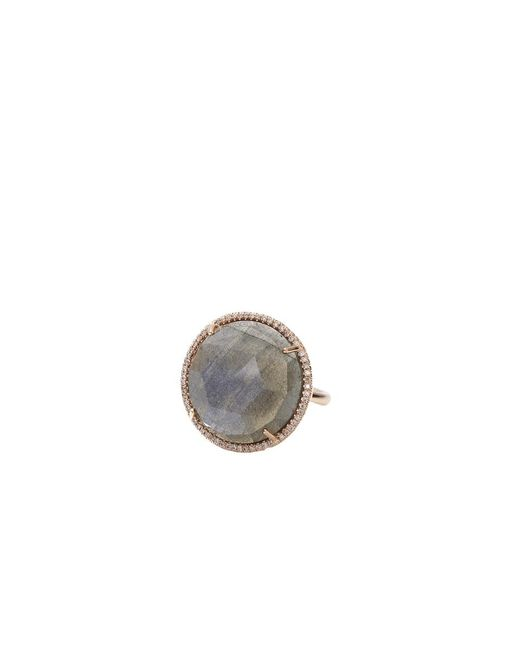 Irene Neuwirth - Pink Rose Cut Labradorite Ring - Lyst