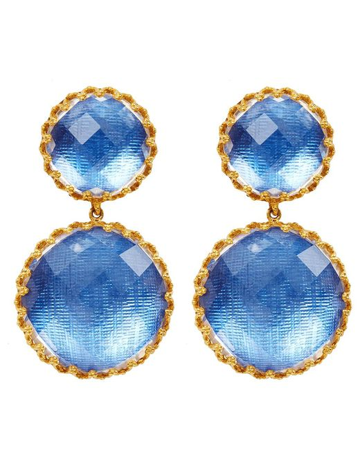 Larkspur & Hawk - Blue Large Olivia Earrings - Lyst