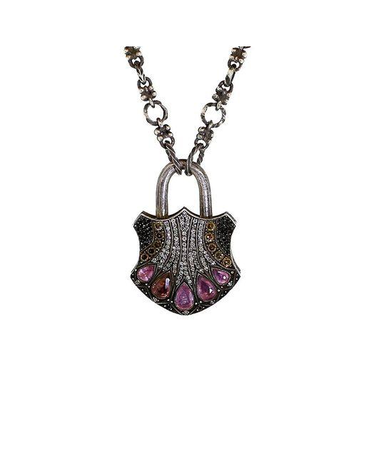 Sevan Biçakci | Metallic Large Padlock Pendant | Lyst
