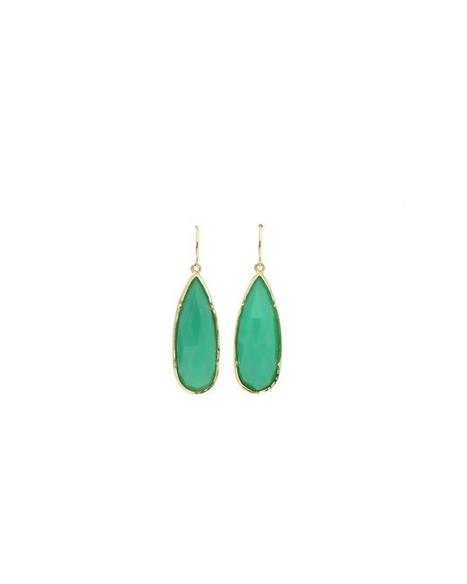 Irene Neuwirth | Green Rose Cut Chrysoprase Earrings | Lyst