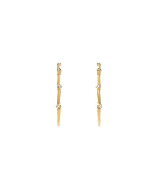 Yossi Harari | Yellow Medium Jane Hoop Earrings | Lyst