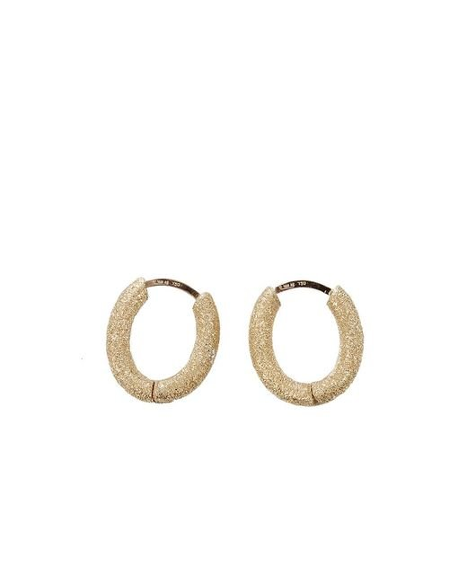Carolina Bucci | Yellow Mirador Sparkly Huggie Earrings | Lyst