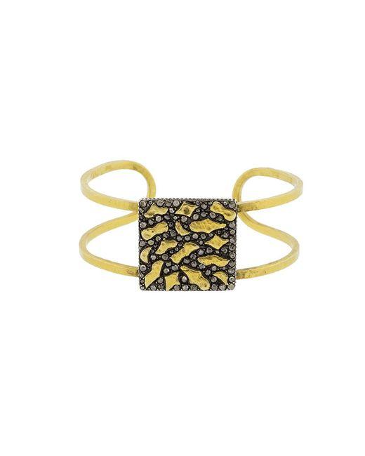 Yossi Harari | Metallic Small Libra Cuff Bracelet | Lyst