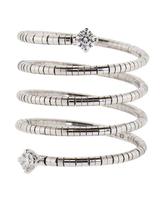 Mattia Cielo - Metallic Rugiada Diamond End Five Wrap Ring - Lyst