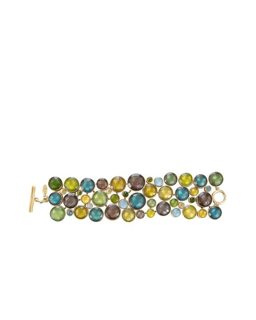 Vaubel | Multicolor Multi-stone Circle Bracelet | Lyst