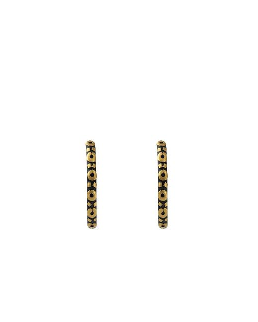 Yossi Harari | Yellow Medium Libra Hoop Earrings | Lyst