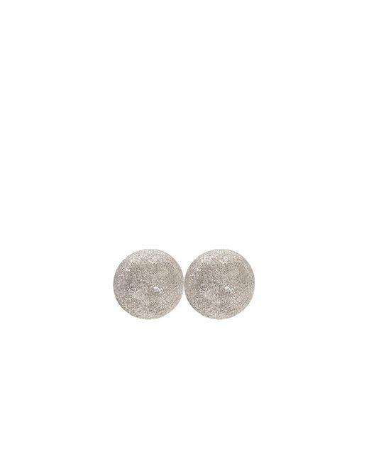 Carolina Bucci | White Medium Sparkly Ball Earrings | Lyst