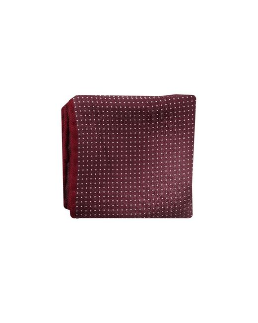 Brunello Cucinelli - Red Polka Dot Pocket Square for Men - Lyst