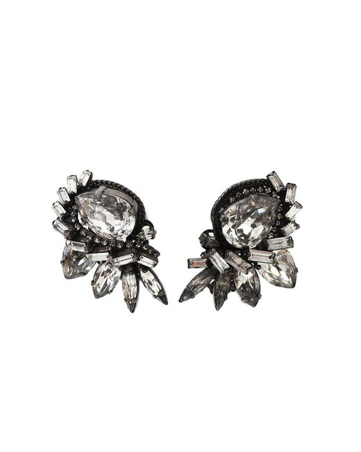 Erickson Beamon | Metallic Young Innocent Crystal Earrings | Lyst