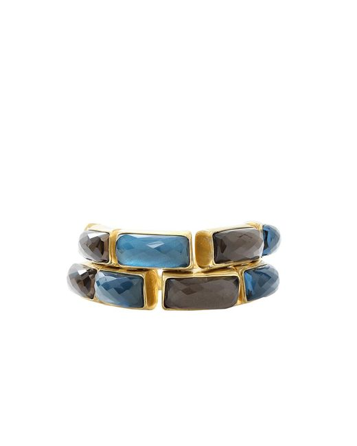 Vaubel - Blue Rectangle Stone Bracelet - Lyst