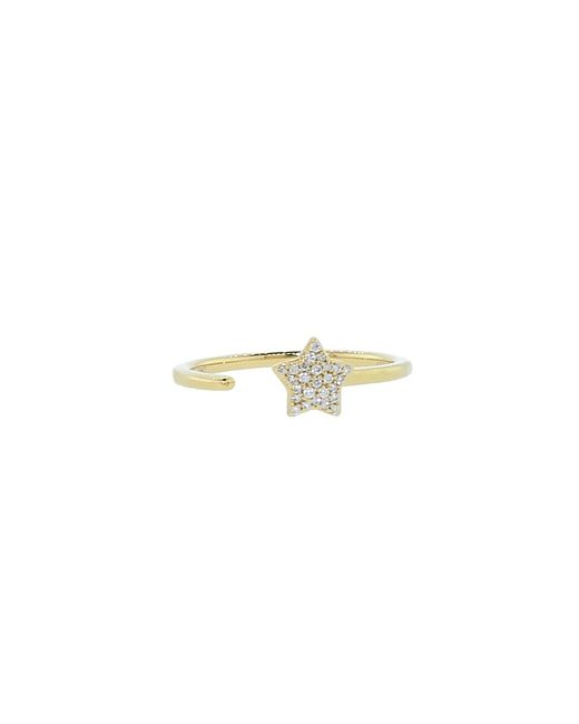 Dana Rebecca | Metallic Diamond Pave Star Ring | Lyst