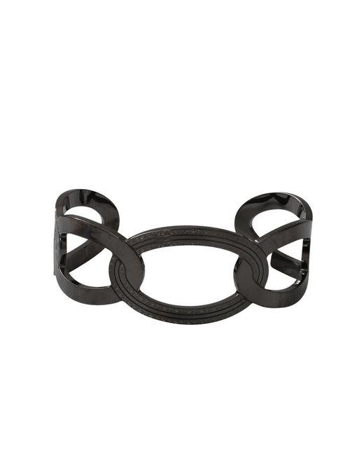 Rebecca | Black Elizabeth Circle Cuff Bracelet | Lyst