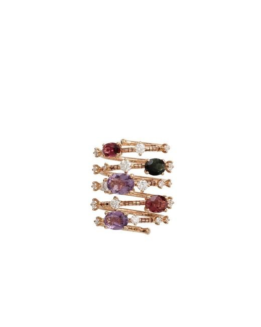 Mattia Cielo | Multicolor Rugiada Five-circle Wrap Rainbow Ring | Lyst