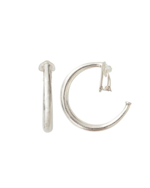 Vaubel | Metallic Single Wire Hoop Clip Earrings | Lyst