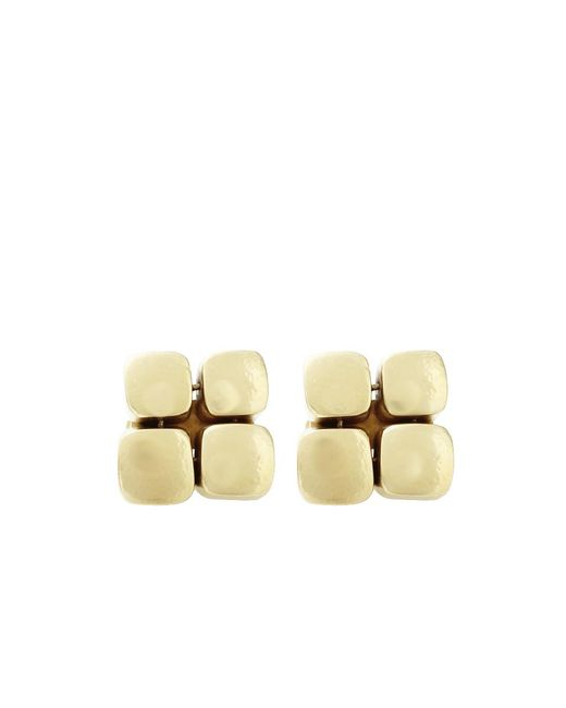 Vaubel | Metallic Four Square Clip Earrings | Lyst