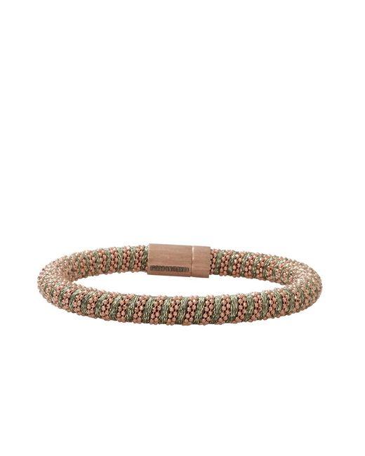 Carolina Bucci | Natural Leaf Sparkle Twister Band Bracelet | Lyst