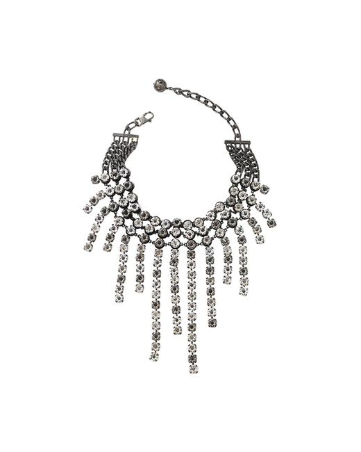Lanvin | Metallic Kristin Fringe Necklace | Lyst