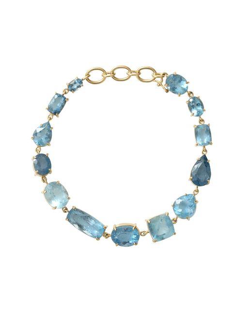 Irene Neuwirth   Blue Mixed Shape Fine Aquamarine Bracelet   Lyst