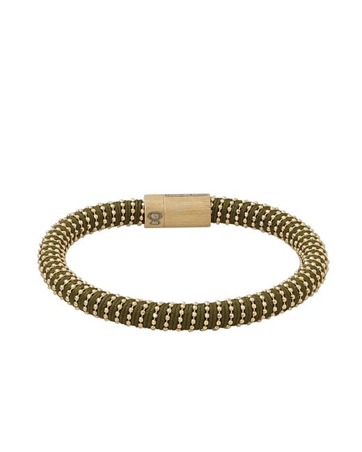 Carolina Bucci | Green Twister Silver and Silk Bracelet | Lyst