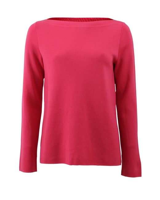 Michael Kors | Red Super Cashmere Knit | Lyst