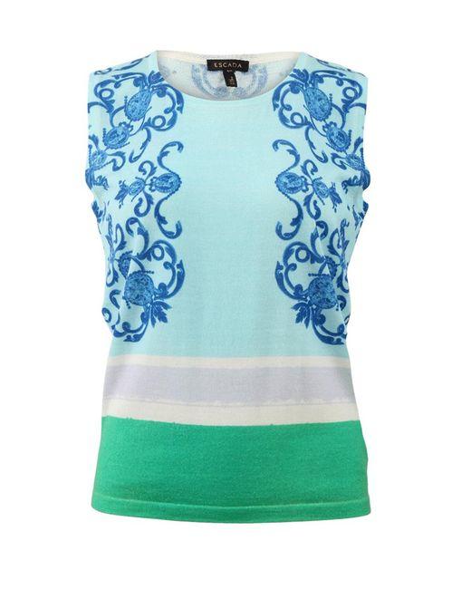 ESCADA | Multicolor Seltame Knit Shell | Lyst
