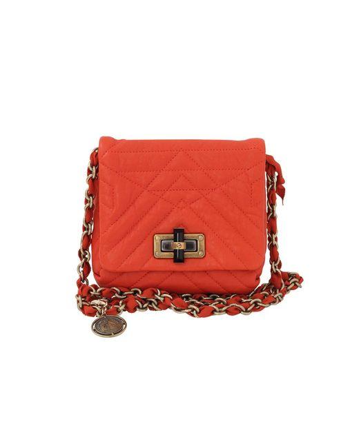 Lanvin | Orange Mini Pop Happy Bag | Lyst
