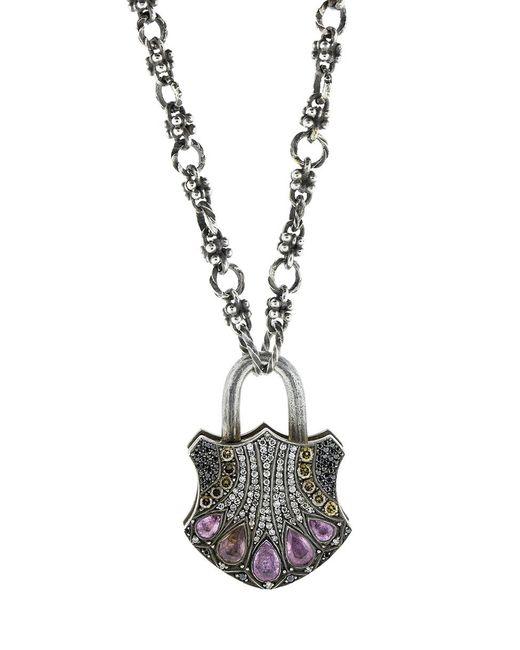 Sevan Biçakci - Metallic Large Padlock Pendant - Lyst