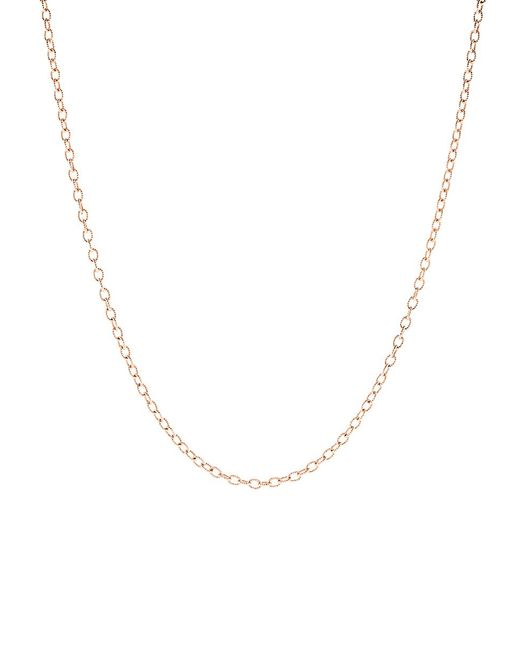 Irene Neuwirth - Metallic Tiny Oval Link Chain - Lyst