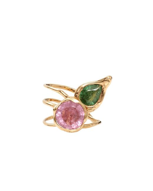 Lucifer Vir Honestus - Green Tourmaline Primavera Ring - Lyst