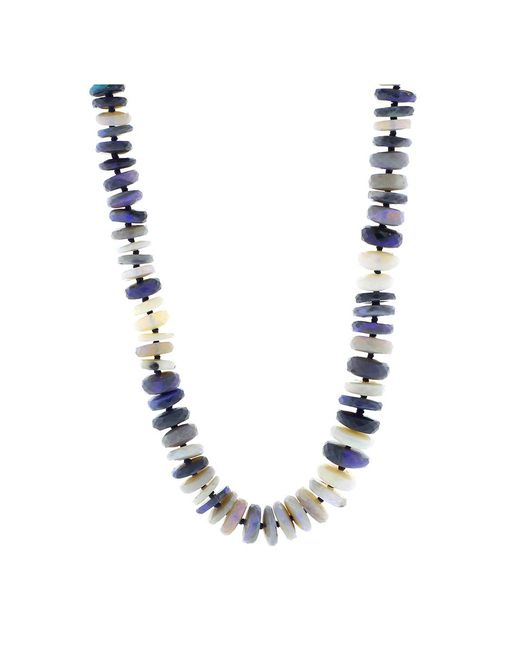 Irene Neuwirth - Metallic Opal Bead Necklace - Lyst